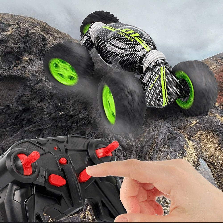Mopoq 2.4G kippendes Fernsteuerungsauto nicht für den Straenverkehr Stunt, der Hochgeschwindigkeitsauto-Verformungs-Drehmomentauto-Aufladung elektrische Vierradantrieb-Klettern-Spielzeugauto verdreht