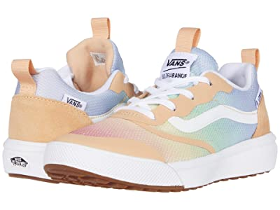 Vans Kids UltraRange Rapidweld (Little Kid) ((Aura Shift) Multi/True White) Girls Shoes