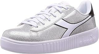 Diadora Scarpe da Ginnastica Sneakers Bambina Argento Glitter 101-176740-01-90001