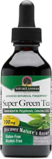Nature's Answer Super Green Tea, Alcohol-Free, 2 fl oz (60 ml)