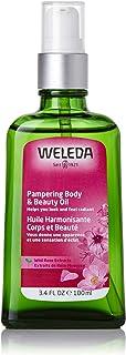 Weleda Wild Rose Pampering Body & Beauty Oil, 3.4 Fl Oz