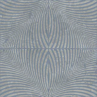 York Wallcoverings Y6180104 Wall Sculpture Square Wallpaper, Large, Silvery Grey/Medium Blue