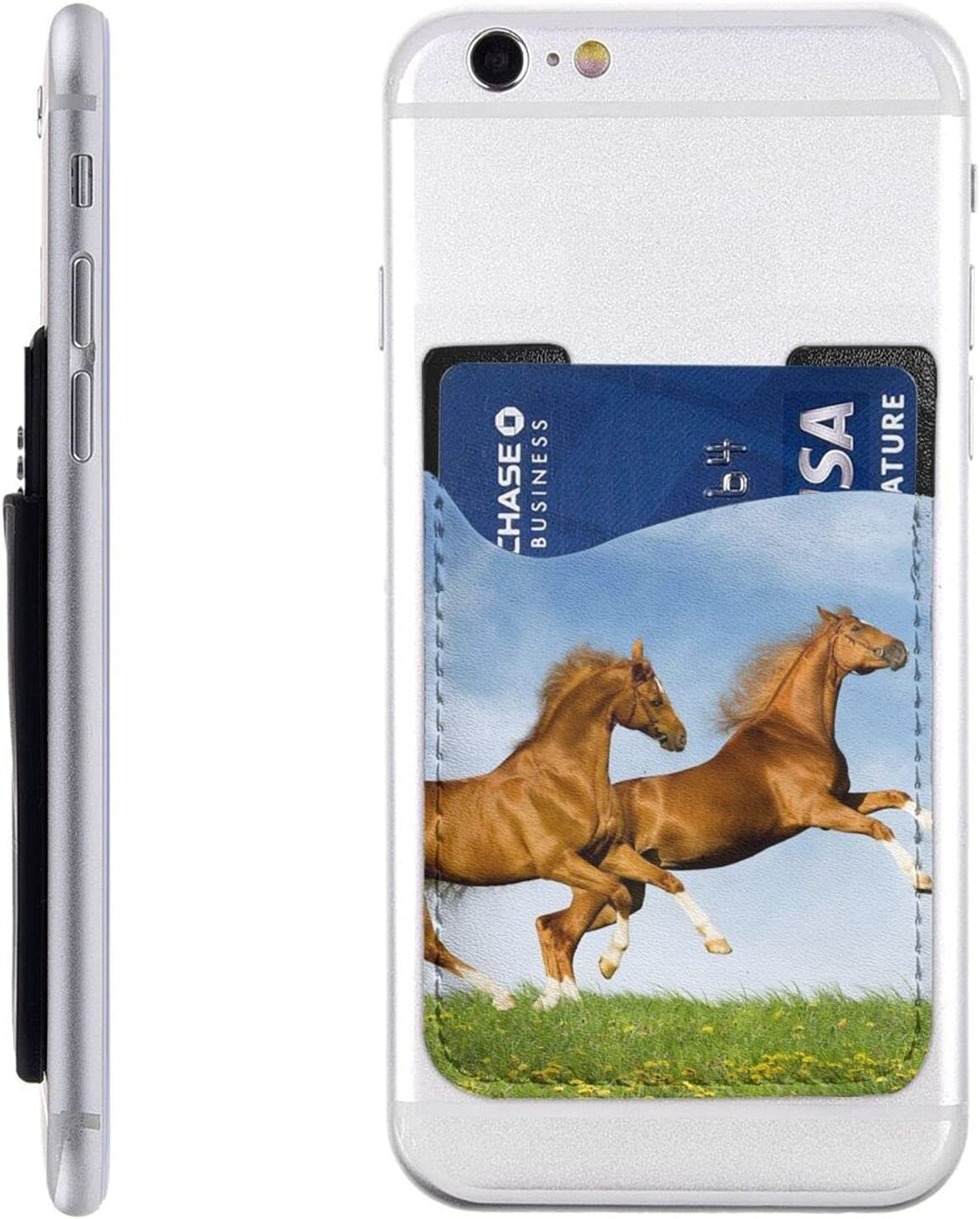 Jump Horse Phone Card Holder Sle Our shop most popular On Max 52% OFF Wallet Cell Stick