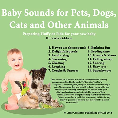 Baby Sounds for Pets, Dogs, Cats and Other Animals