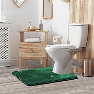 Contour Bath Mat Bathroom Rug - Absorbent Memory Foam Bath Rugs - Non-Slip, Thick, Cozy Velvet Feel Microfiber Bathrug, Pl...