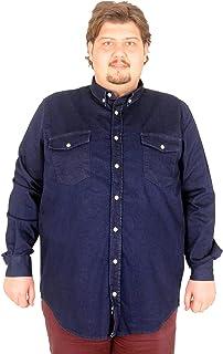 Mode XlErkek Uzun Kollu Kot Gömlek 170