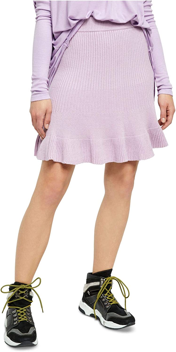 Free People Women's Solid Gold Skirt