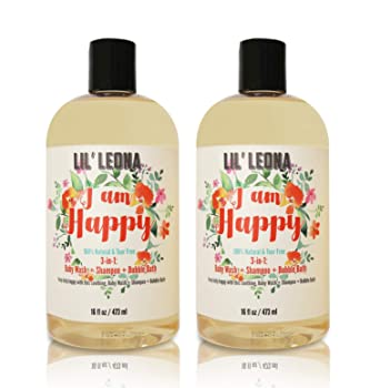 I Am Happy Baby Shampoo Bubble Bath and Body Wash