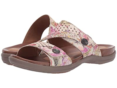 Rockport Cobb Hill Collection Rubey Asym Slide (Floral) Women