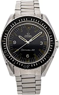 Omega Seamaster Mechanical (Automatic) Black Dial Mens Watch 165.024 (Certified Pre-Owned)