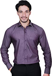 MODS The Cotton Purple Plain Shirt