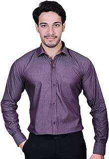 MODS The Cotton Purple Plain Shirt