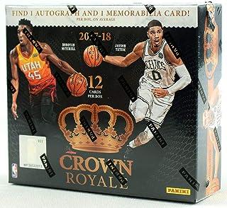 2017/18 Panini Crown Royale NBA Basketball HOBBY box (12 cards)
