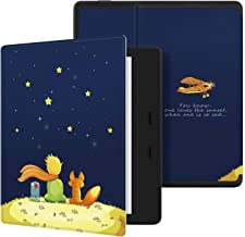 Ayotu Colorful Case for All-New Kindle Oasis (10th Gen, 2019 Release & 9th Gen, 2017 Release) PU Leather Smart Waterproof Cover,Auto Wake/Sleep,ONLY Fits All-New 7� Kindle Oasis,KO The Boy and Fox