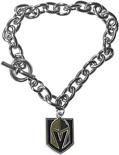 Siskiyou NHL Womens Charm Chain Bracelet