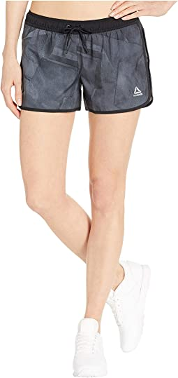 Wor Printed Woven Shorts - Wing Dimension