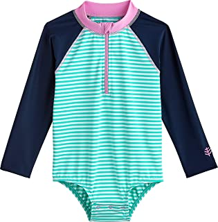UPF 50+ Baby Wave One-Piece Swimsuit - Sun Protective