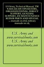 US Army, Technical Manual, TM 9-3413-223-15P, OPERATORS, ORGANIZATIONAL, DIRECT SUPPORT, GENERAL SUPPORT, AN MAINTENANCE REPAIR PARTS AND SPECIAL TOOLS ... military manuals on cd, (English Edition)