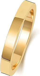 Anello Fede Nuziale Uomo/Donna 2,5mm in Oro giallo 9k (375) WJS188549KY