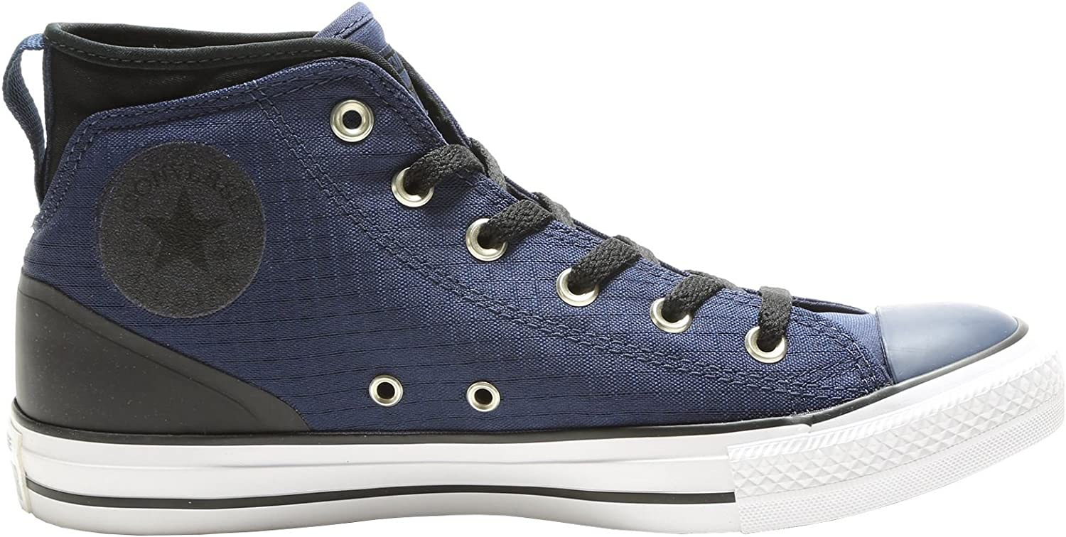 Converse Pour des hommes Chuck Taylor All Star Syde rue Mid toile Trainers