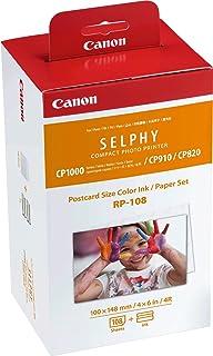 CANON Papier RP-108, Noir, L