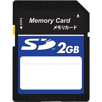 RAWR ラーウ 2GB SDカード MLCチップ Class6対応 無地シリーズ (ECOパッケージ) バルク + 透明ケース RSD-002GBC10