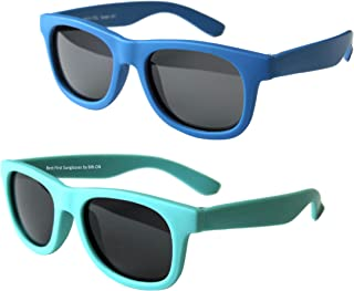 Vintage 2 Pack- Baby, Toddler's First Sunglasses for Ages...