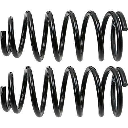 Amazon Com Moog 81681 Coil Spring Set 1 Pack Automotive
