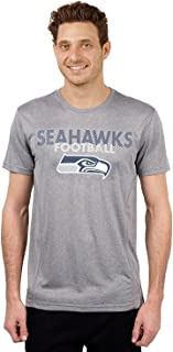 NFL Men's Moisture Wicking Athletic Performance Active T-Shirt