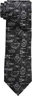 Star Wars Men's Line Drawing Tie