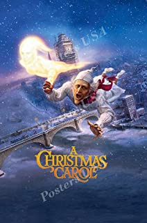 Posters USA Disney Classic A Christmas Carol Jim Carrey Movie Poster GLOSSY FINISH - FIL699 (24
