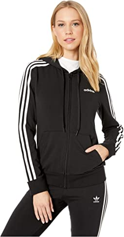 Essential 3-Stripes Full Zip Hoodie