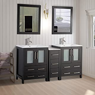 60 inch bathroom vanity sets