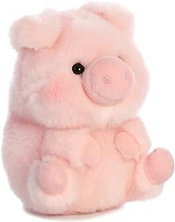 Aurora World 16833 Rolly Pet Prankster Pig Plush, 5