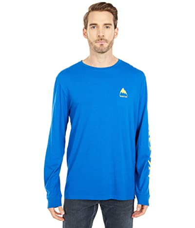 Burton Elite Long Sleeve T-Shirt (Lapis Blue) Clothing