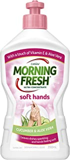 Morning Fresh Soft Hand Cucumber and Aloe Vera Dishwashing Liquid, Cucumber and Aloe Vera 350 milliliters