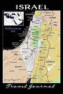 Israel Travel Journal: Blank Lined Journal, Keepsake Travel Notebook