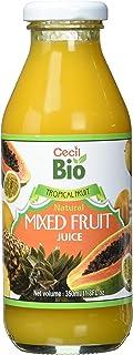 Cecil Bio Succo di frutta mista, naturale, 350 ml, confezione da 4