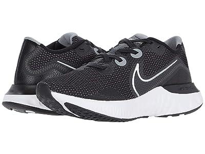 Nike Renew Run (Black/Metallic Silver/White) Women
