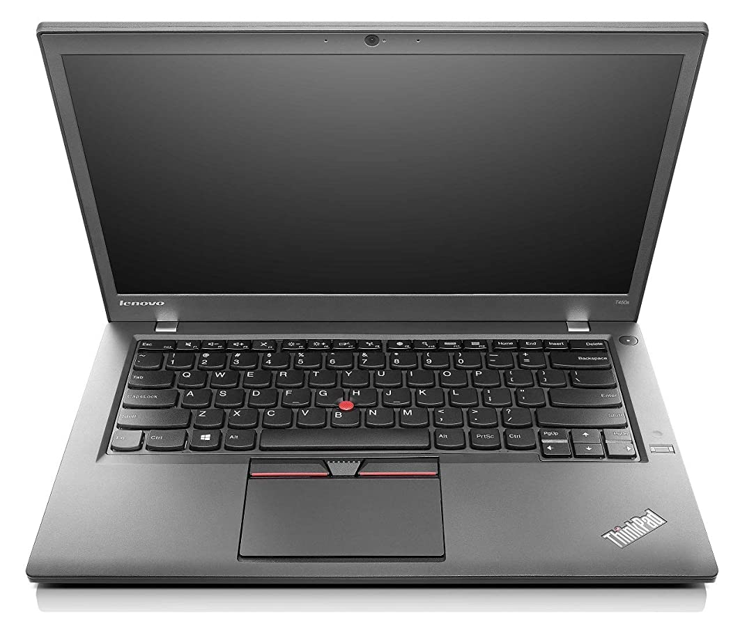 Lenovo Laptop T450 Intel Core i5-5200u 2.20GHz 8GB DDR3 Ram 180GB SSD Windows 10 Pro (Renewed)
