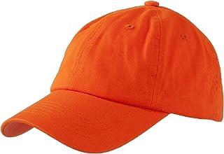 Levine Hats Unisex Stone Washed Cotton Baseball Cap Adjustable Size (7+ Colors)