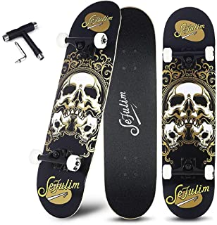 Best hawk skull skateboard Reviews