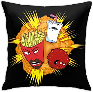 not Aqua Teen Hunger Force Art Cute Pattern Pillow Covers, Car Sofa Home Decor, Room Decorations