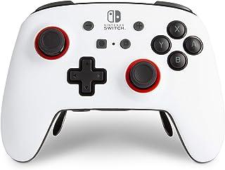 PowerA FUSION Pro Wireless Controller for Nintendo Switch - White/Black, Nintendo Switch Lite, gamepad, Bluetooth, video g...
