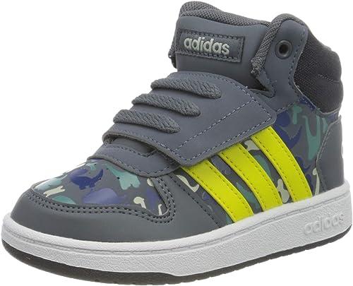 adidas Hoops Mid 2.0, Sneakers Basses Garçon Unisex Kinder