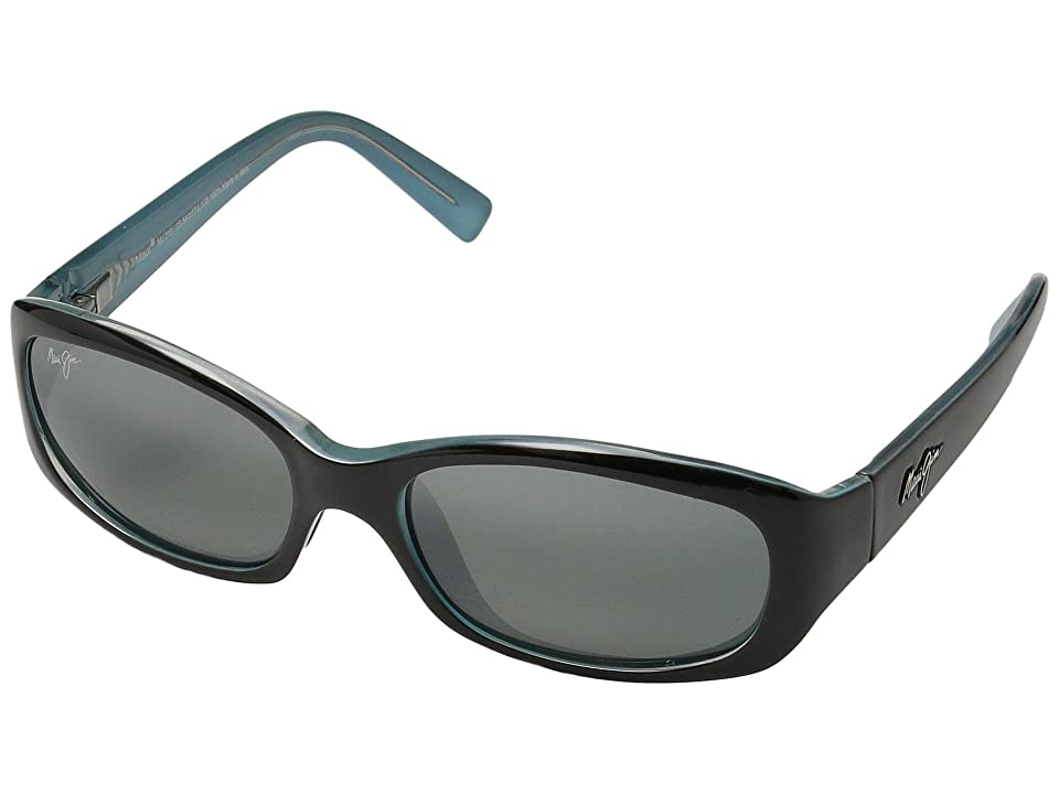 Maui Jim Punchbowl (Black/Blue/Neutral Grey Lens) Sport Sunglasses
