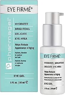 Pharmagel Eye Firme   Eye Gel for Natural Firming, Puffiness, and Wrinkles   Dark Circles Under Eye Treatment   Under Eye Bags Treatment - 1 fl oz