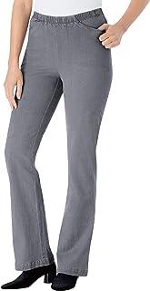 Women's Plus Size Bootcut Fineline Jean