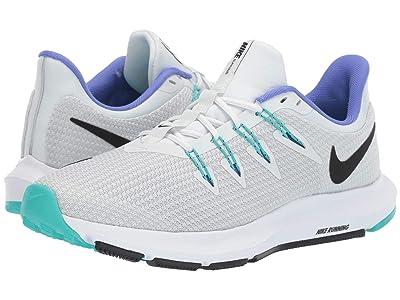 Nike Quest (Off-White/Black/Hyper Jade/Sapphire) Women