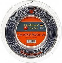 خيط التنس كيرشبوم ريل ماكس باور هارد، 1.25 مم/ 17 درجة، فضي رمادي